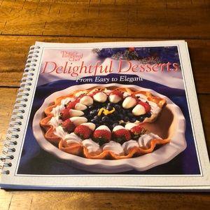 Pampered Chef Delightful Desserts Cookbook